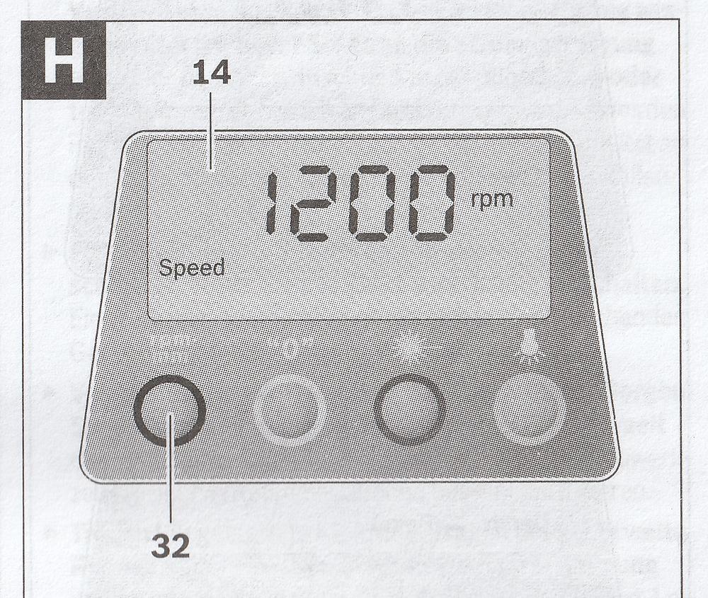 PBD 40 - cadran