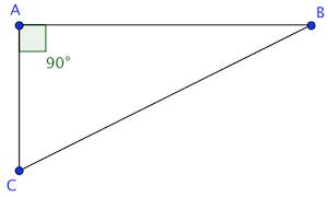 Triangle rectangle.