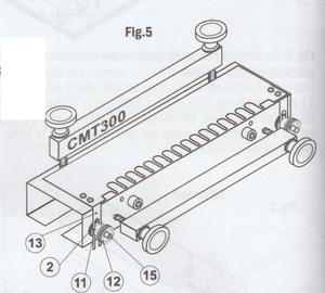 Montage CMT300 - Fig 5
