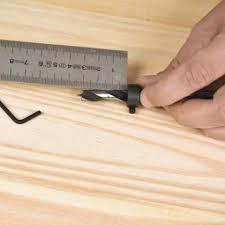Mise en place bague de profondeur sur un foret.