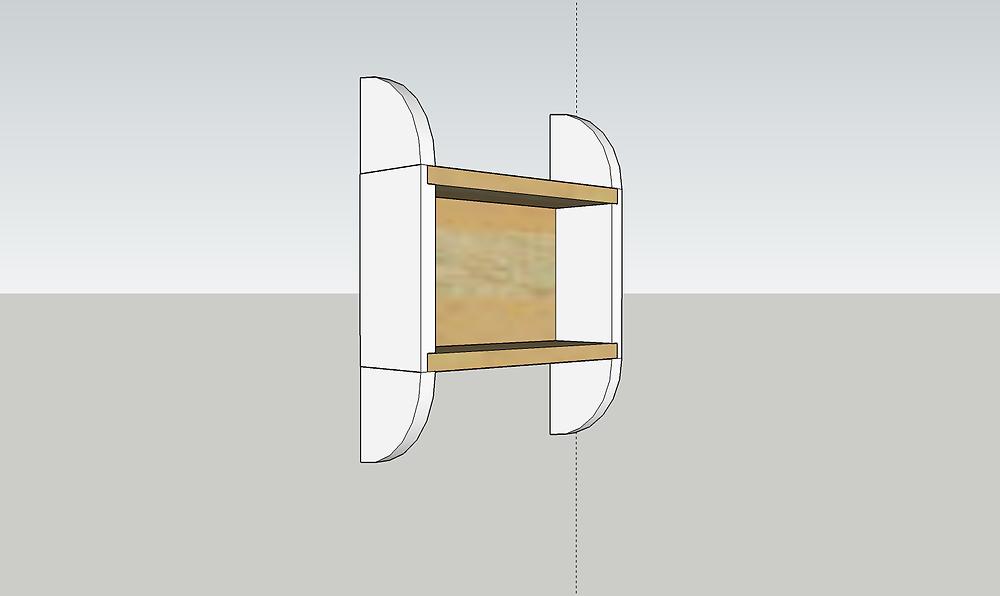 La modélisation d'un projet en 3D : Le porte savon.