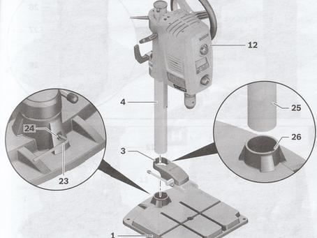 Perceuse Bosch PBD 40 - installation et entretien.