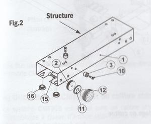 Montage du CMT300 - Fig 2