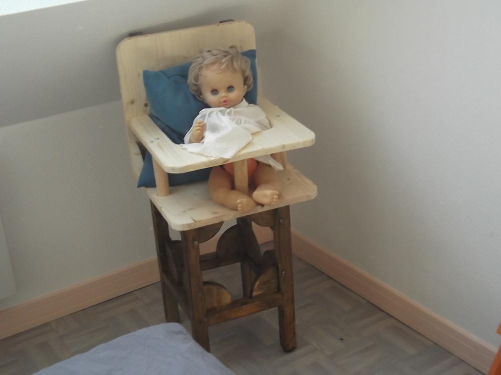 Création personnelle : Un siège bébé.