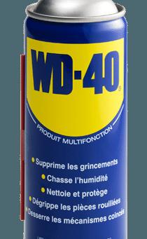 WD 40 Multifonction en menuiserie.