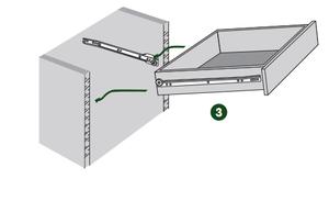 La coulisse à galets à fixation latérale et sortie partielle - notice 3