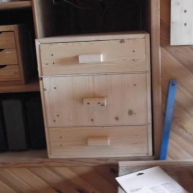 Meuble 3 tiroirs Atelier.