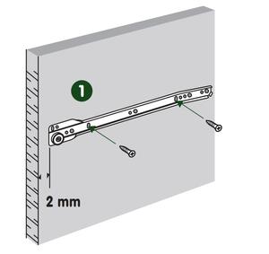 La coulisse à galets à fixation latérale et sortie partielle - notice 1