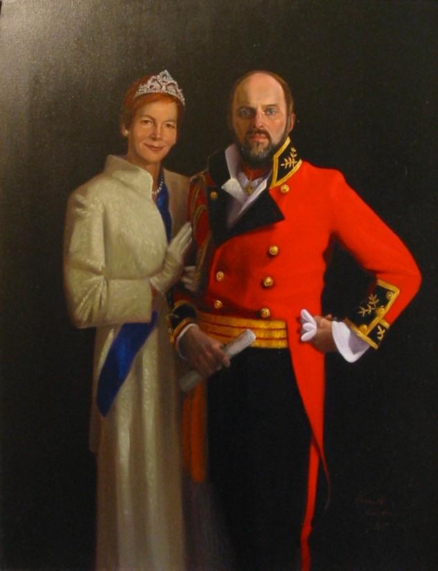 the Duke & Duchess of Wellington