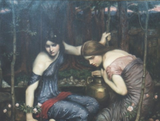 J.W.Waterhouse Nymphs Finding the Head of Orpheus