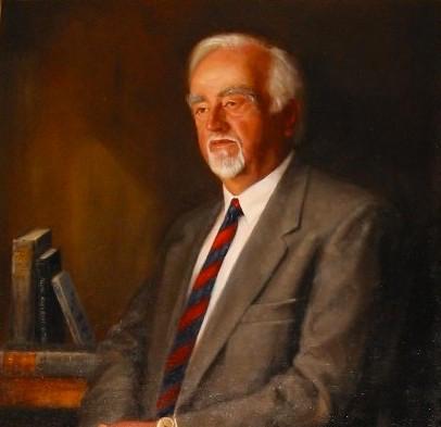 Prof jack dodd official portrait