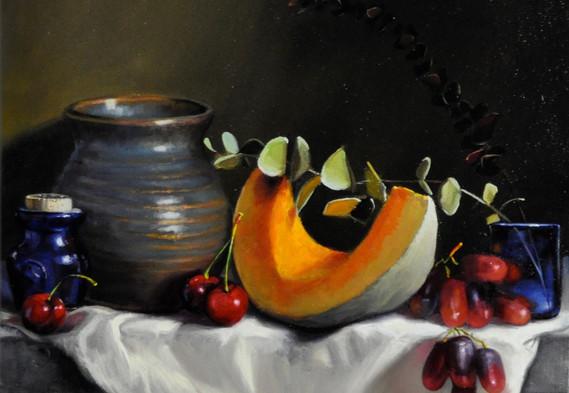 Pumpkin & Grapes