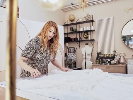 Top tips for designing your bespoke bridalwear