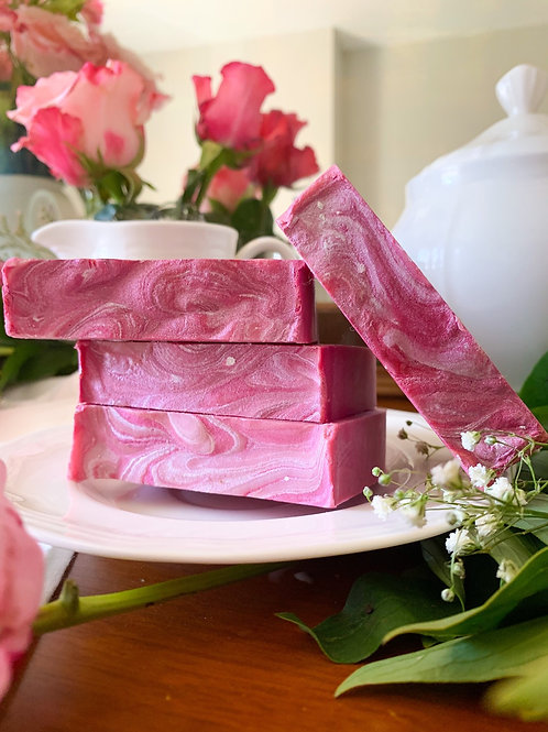 Pink Peony Hand and Body Soap