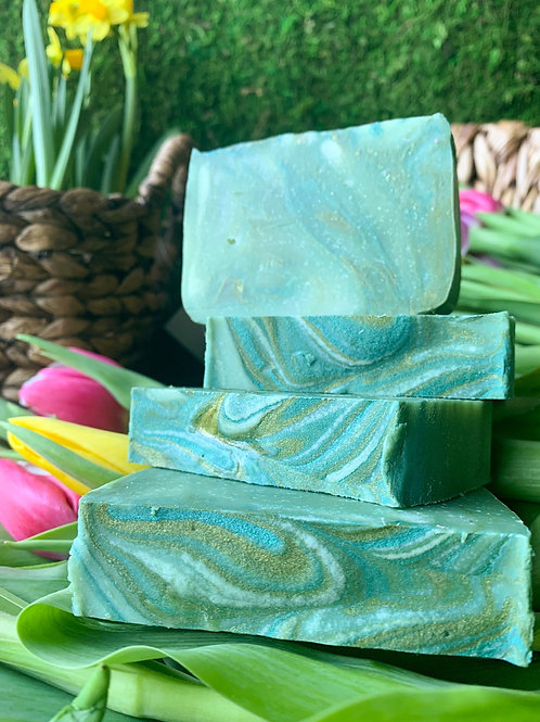Basil Essential Oil Soap