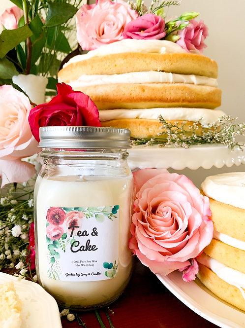 Tea & Cake Soy Candle