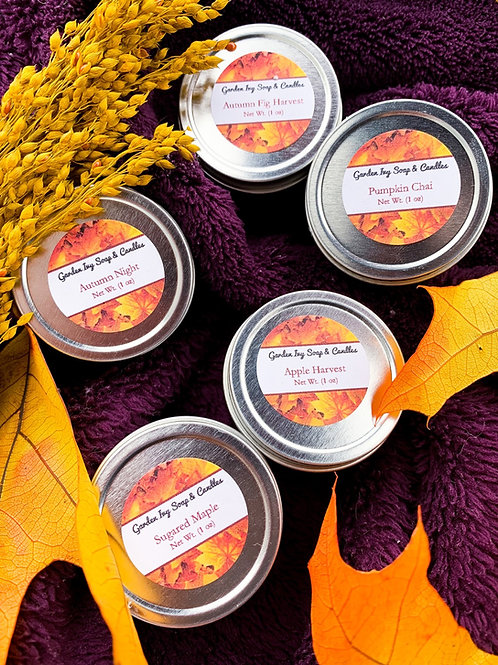 Fall Candle Minis