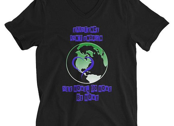 Existence Short Sleeve V-Neck T-Shirt