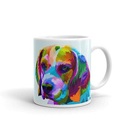 Colorful Dog Mug