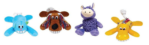 Diggers  Assorted  Plush  Dog Toy  Large  1