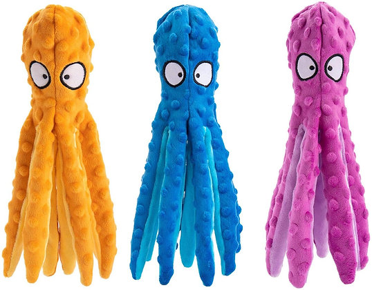 Octopus Crinkle Toy for Dogs