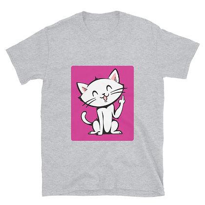 Flippy Cat Short-Sleeve Unisex T-Shirt