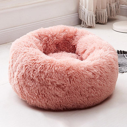 Plush Washable Pet Bed