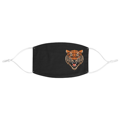 Tiger Head Fabric Face Mask