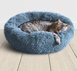 "Plush Cat/Dog Bed - 23"""