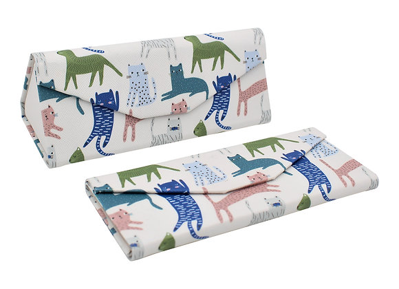 Leather Glasses Case – Kitty Design