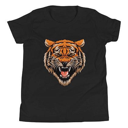Tiger Head Youth Short Sleeve T-Shirt