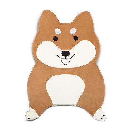 Dog Microfiber Rug - Shiba Inu