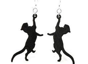 Playful Cat Earrings # 1066