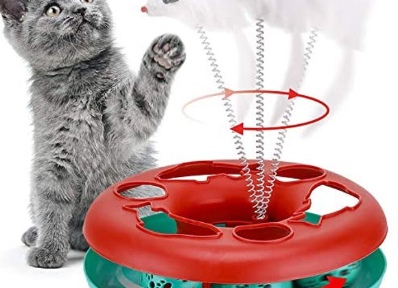 Interactive Cat Track Toy