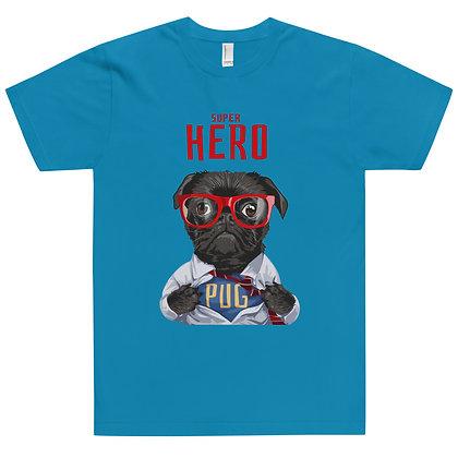Superhero Pug T-Shirt