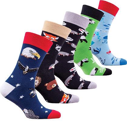 Men's Feral Animals Socks