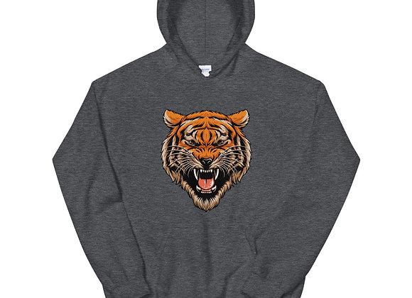Tiger Head Unisex Hoodie