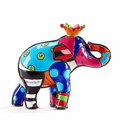 Romero Britto's Mini Elephant Collector's Figurine