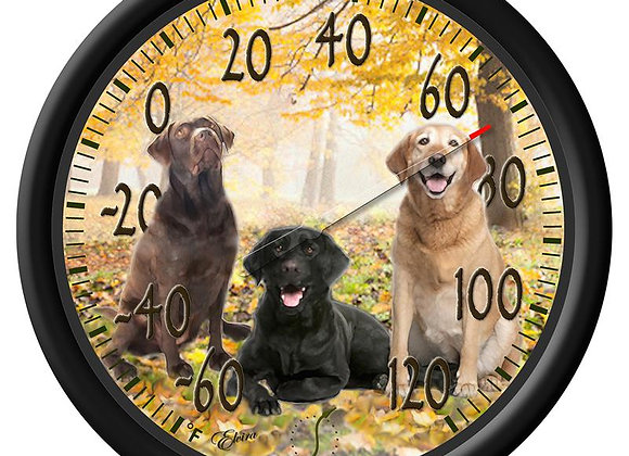 Dog Design Dial Thermometer