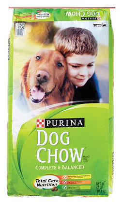 Purina  Dog Chow Complete & Balanced  Beef  Dry  Dog  Food  42 lb.