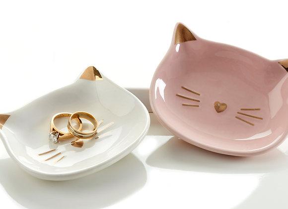 Cat Trinket Dish