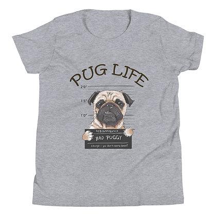 Pug Life Youth Short Sleeve T-Shirt
