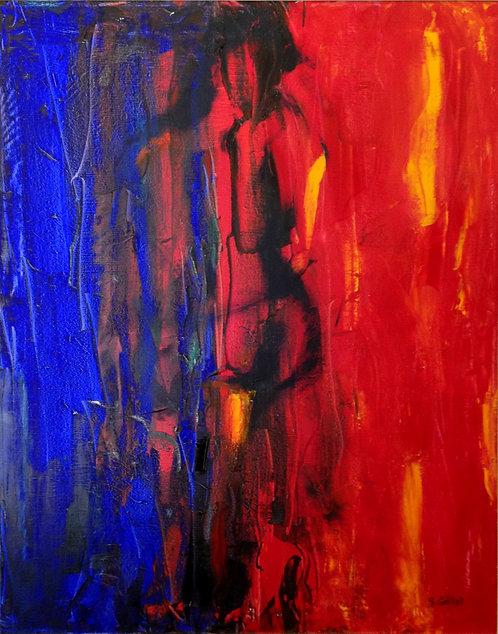 The Kiss (Rouge et Bleu)