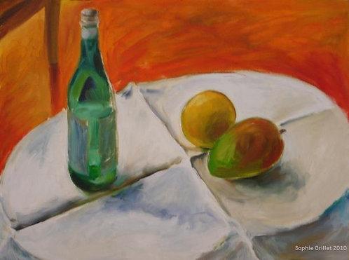 Mango and San Pellegrino