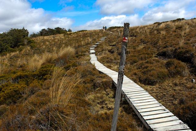 Godt tilrettelagt for den som vil på tur i Tongariro National Park.