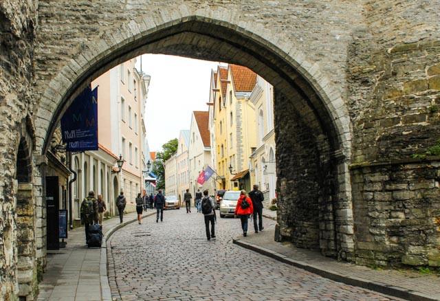 Velkommen til gamlebyen i Tallin!