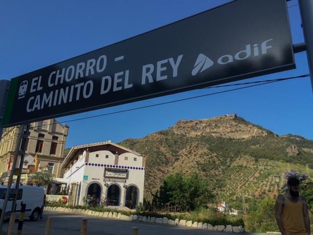 Jernbanestasjonen i El Chorro har nå fått Caminito del Rey i navnet. Så ingen skal være i tvil.