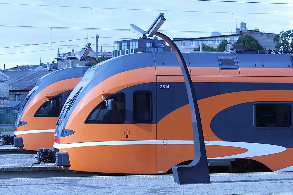 Estland er et fint land for togturister.