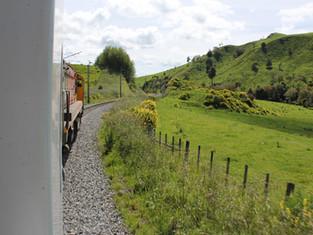 New Zealand med tog