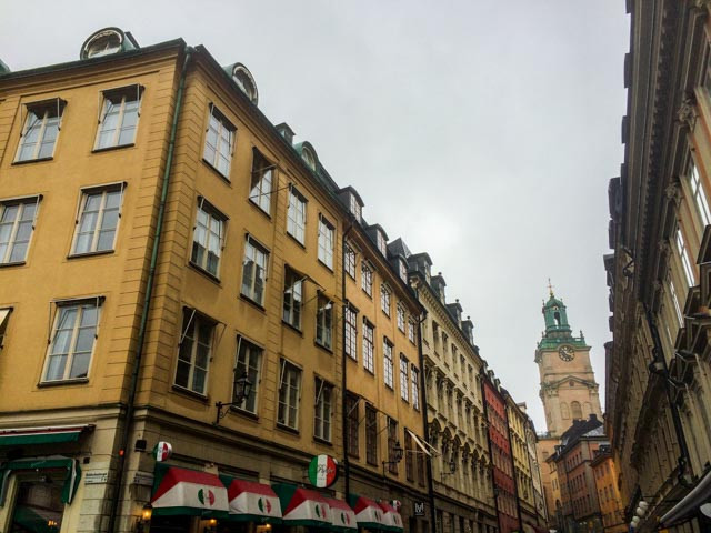 Vi er fremme i Stockholm i god tid før lunsj med SJs morgentog fra Oslo. Godt gjensyn med fin by!